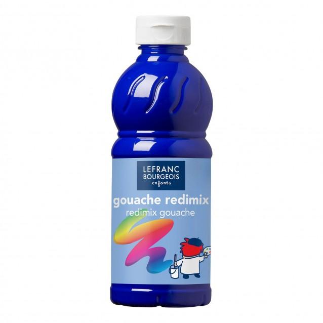 Lefranc & Bourgeois 500 ml Τέμπερα Redimix 054 Blue Ultramarine