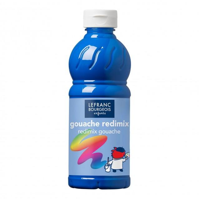 Lefranc & Bourgeois 500 ml Τέμπερα Redimix 063 Cyan
