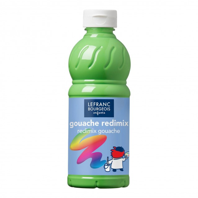 Lefranc & Bourgeois 500 ml Τέμπερα Redimix 556 Light Green