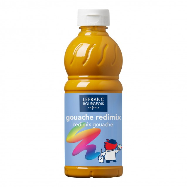 Lefranc & Bourgeois 500 ml Τέμπερα Redimix 302 Yellow Ochre