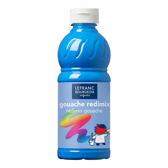 Lefranc & Bourgeois 500 ml Τέμπερα Redimix 20 /083 Fluo Blue