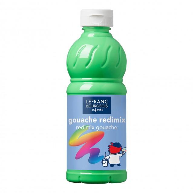 Lefranc & Bourgeois 500 ml Τέμπερα Redimix 21/565 Fluo Green
