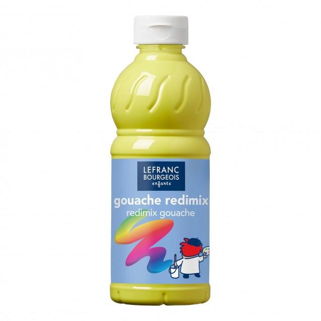 Lefranc & Bourgeois 500 ml Τέμπερα Redimix 169 Lemon Yellow