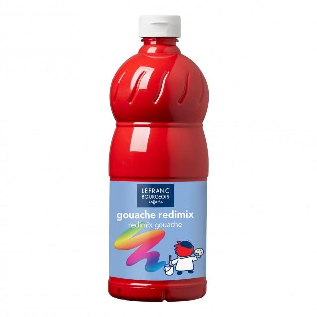 Lefranc & Bourgeois 1 lt Τέμπερα Redimix 327 Red Carmine