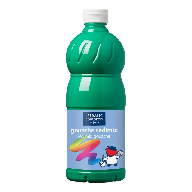 Lefranc & Bourgeois 1 lt Τέμπερα Redimix 558 Brilliant Green