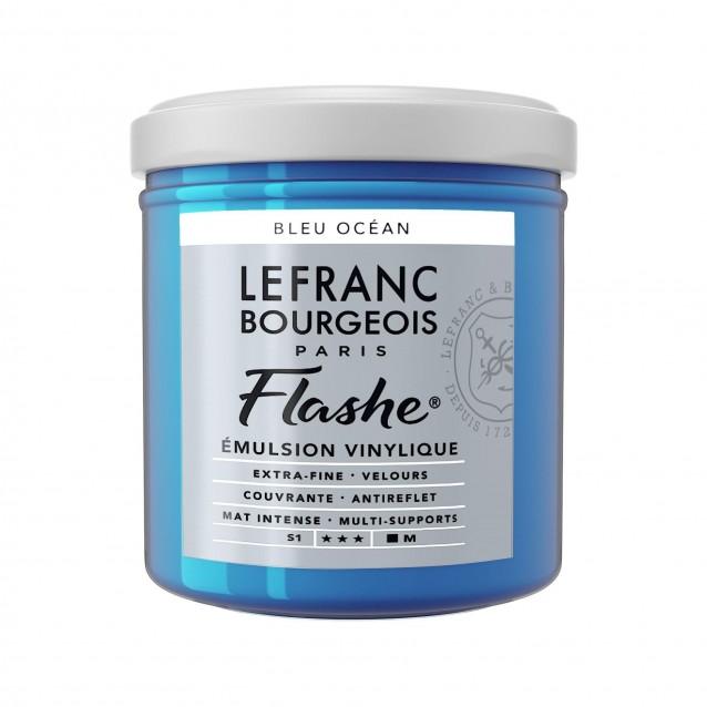 Lefranc & Bourgeois 125ml Flashe Acrylic 904 Ocean Blue