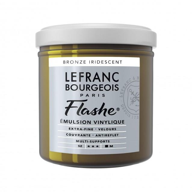 Lefranc & Bourgeois 125ml Flashe Acrylic 837 Iridescent Bronze