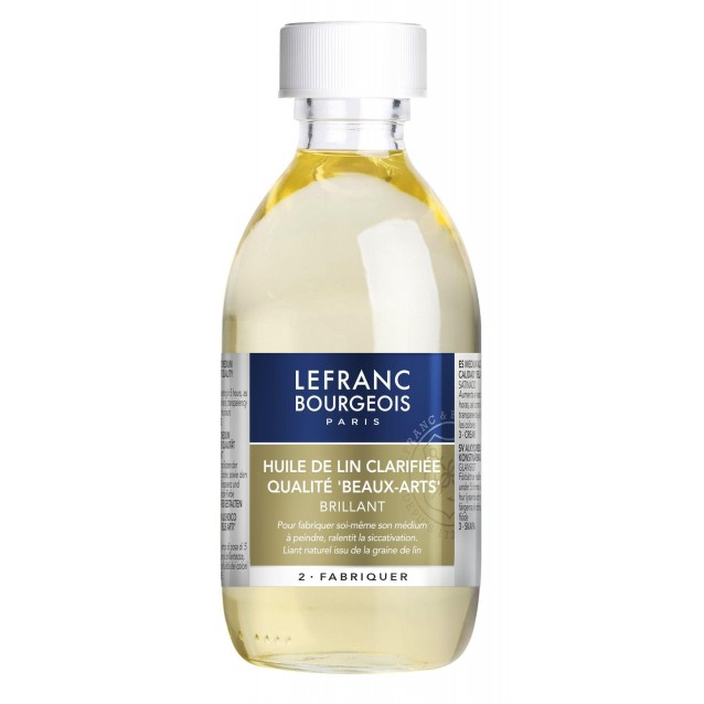 Lefranc & Bourgeois 250 ml Λινέλαιο (Linseed Oil Clarified)