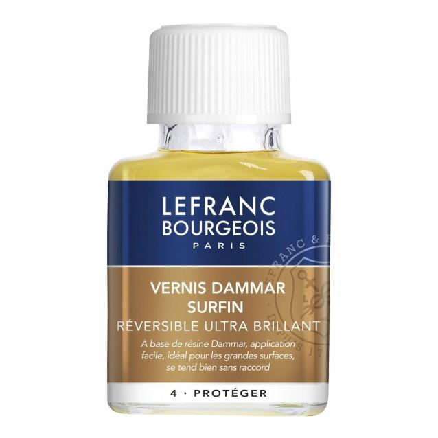 Lefranc & Bourgeois 75 ml Extra Fine Dammar Varnish