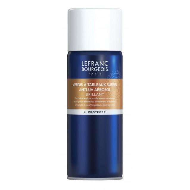 Lefranc & Bourgeois 400 ml Γυαλιστερό Βερνίκι Για Λάδι/Ακρυλικό Σε Σπρέι