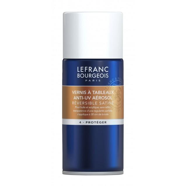 Lefranc & Bourgeois 150ml Σατινέ Βερνίκι για Λάδι/Ακρυλικό σε Σπρέι