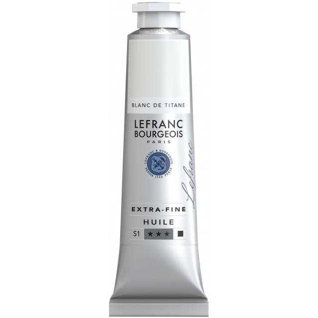 Lefranc & Bourgeois 40ml Artists Oil 008 Series 1 Titanium White