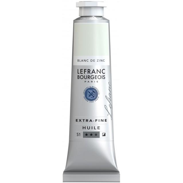 Lefranc & Bourgeois 40 ml Artists Oil 009 Series 1 Zinc White