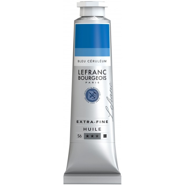 Lefranc & Bourgeois 40 ml Artists Oil 027 Series 6 Cerulean Blue