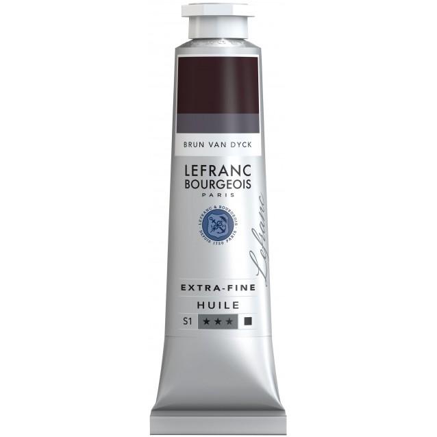 Lefranc & Bourgeois 40 ml Artists Oil 111 Series 1 Vandyke Brown