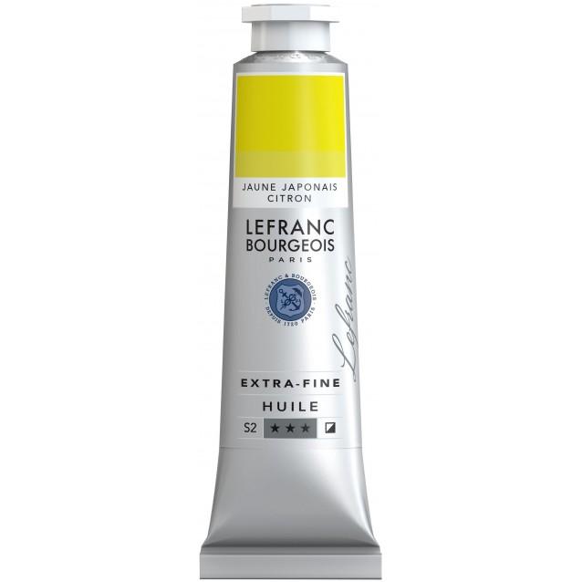 Lefranc & Bourgeois 40 ml Artists Oil 171 Series 2 Japanese Lemon Yelllow