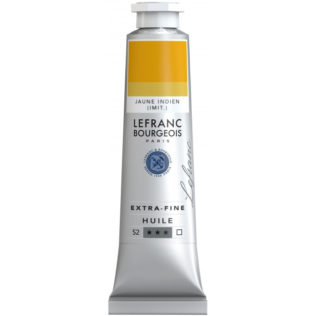 Lefranc & Bourgeois 40ml Artists Oil 182 Series 2 Indian Yellow Hue