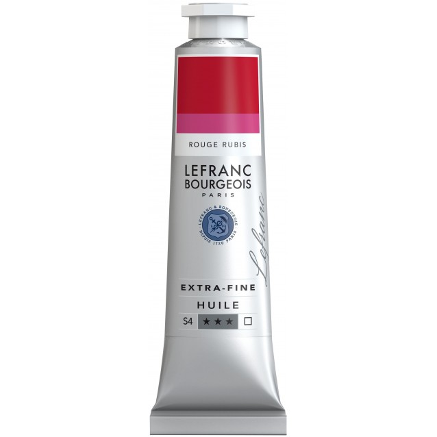 Lefranc & Bourgeois 40ml Artists Oil 388 Series 4 Ruby Red