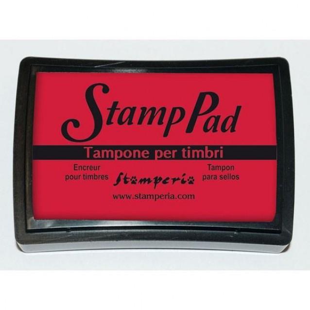 Stamperia Μεγάλο Ταμπόν 7,5x5cm Κόκκινο