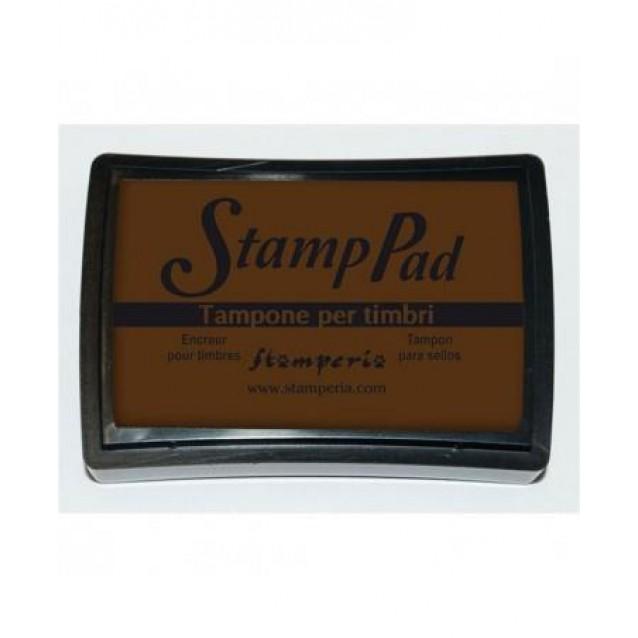 Stamperia Μεγάλο Ταμπόν 7,5x5cm Καφέ