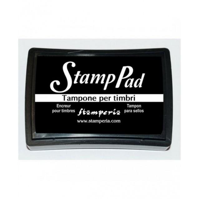 Stamperia Μεγάλο Ταμπόν 7,5x5cm Μαύρο