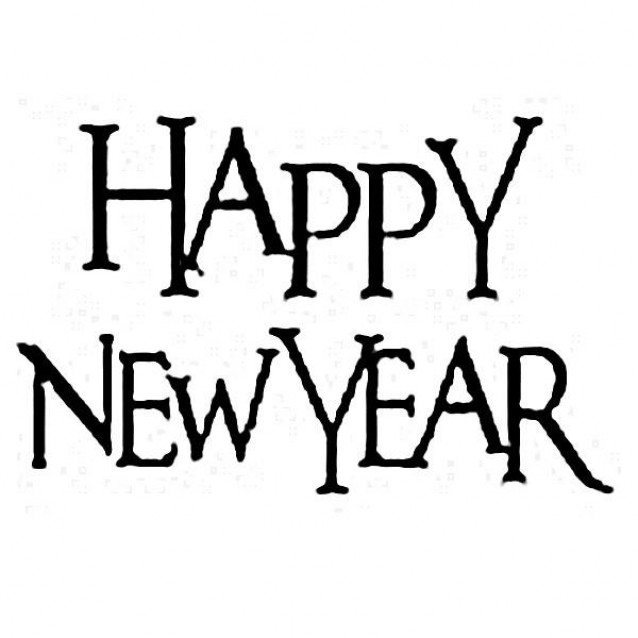Stamperia Ακρυλική Σφραγίδα 5x7cm Happy New Year