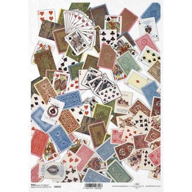 Itd. Collection Ριζόχαρτο Decoupage A4 (21x29,7cm) Cards