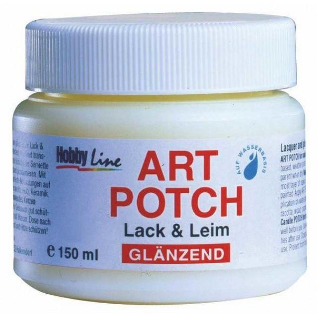 Kreul 150ml Art Potch Κόλλα και Βερνίκι Decoupage Γυαλιστερό