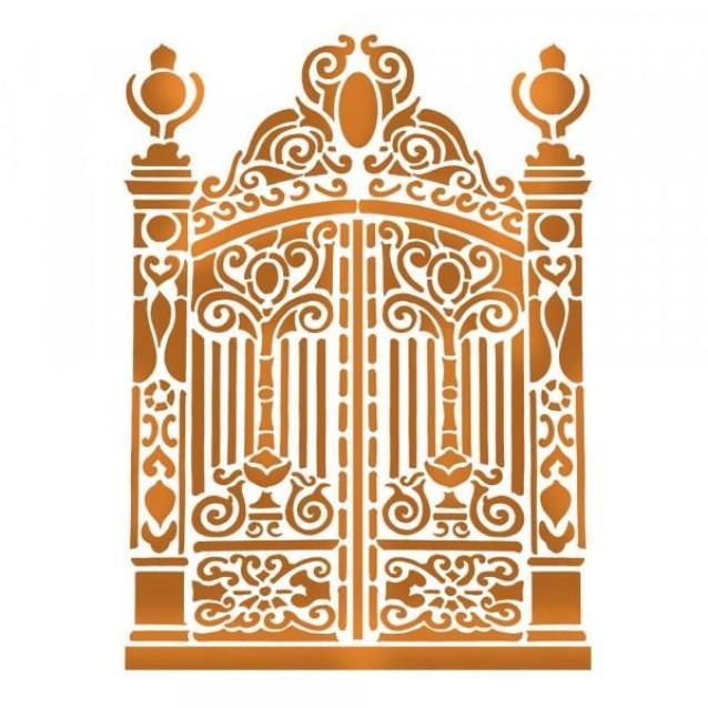 Stamperia Stencil G 21x29,7cm Gate