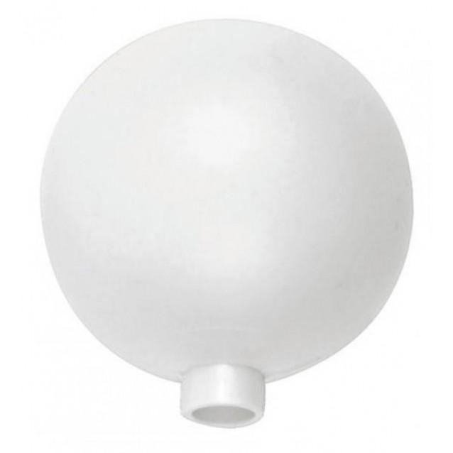 Λευκό Πλαστικό Αυγό 10cm με Τρύπα
