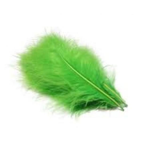 15 Φτερά Marabu Πράσινο Σκούρο 12cm