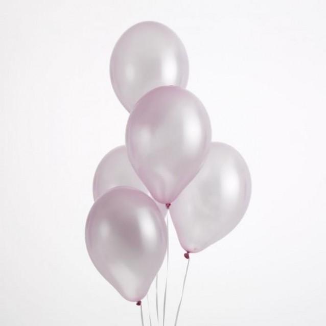 50 Περλέ Μπαλόνια Ροζ