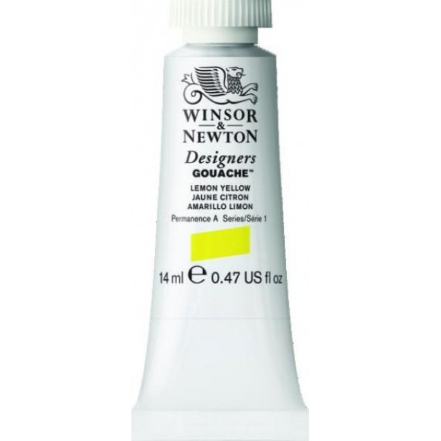 Winsor & Newton 14ml Τέμπερα Designers Lemon Yellow Serie 1