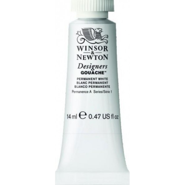 Winsor & Newton 14ml Τέμπερα Designers Permanent White Serie 1