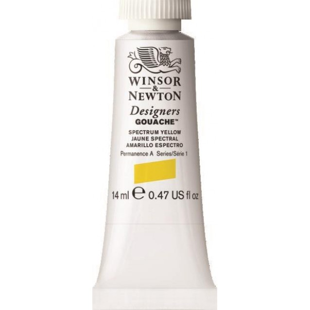Winsor & Newton 14ml Τέμπερα Designers Spectrum Yellow Serie 1