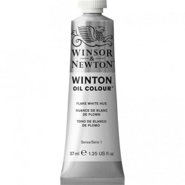 Winsor & Newton 37 ml Winton Oil Flake White Hue