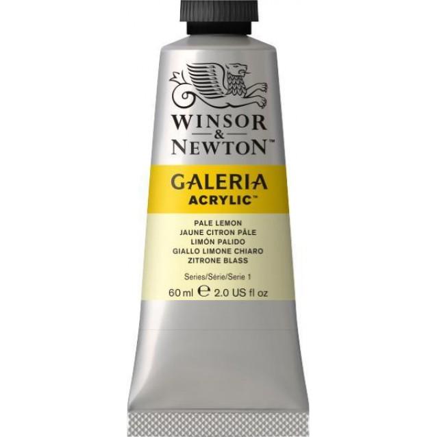 Winsor & Newton 60ml Galeria Acrylic Pale Lemon