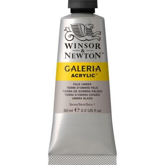 Winsor & Newton 60ml Galeria Acrylic Pale Umber