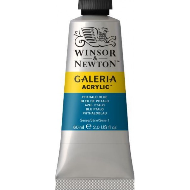 Winsor & Newton 60ml Galeria Acrylic Phtalocyanine Blue