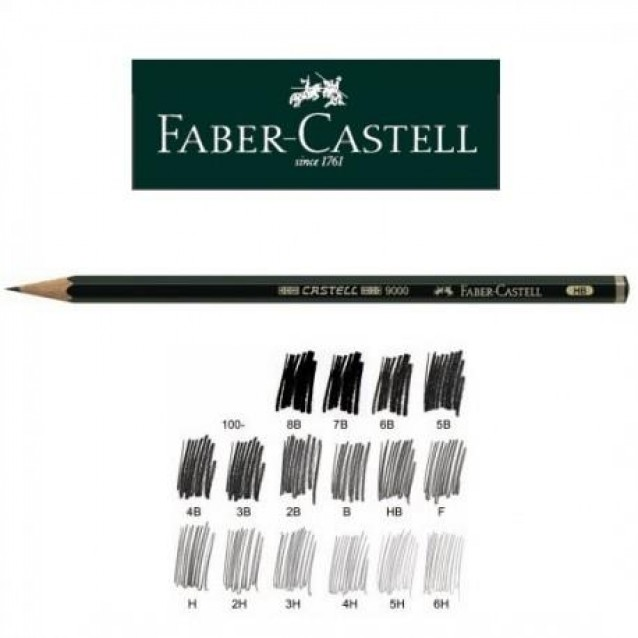 Faber Castell Μολύβι 9000 4H