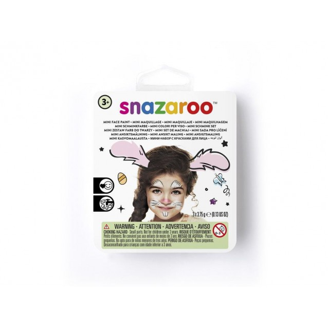 Snazaroo Mini Set Face Paint Κουνελάκι