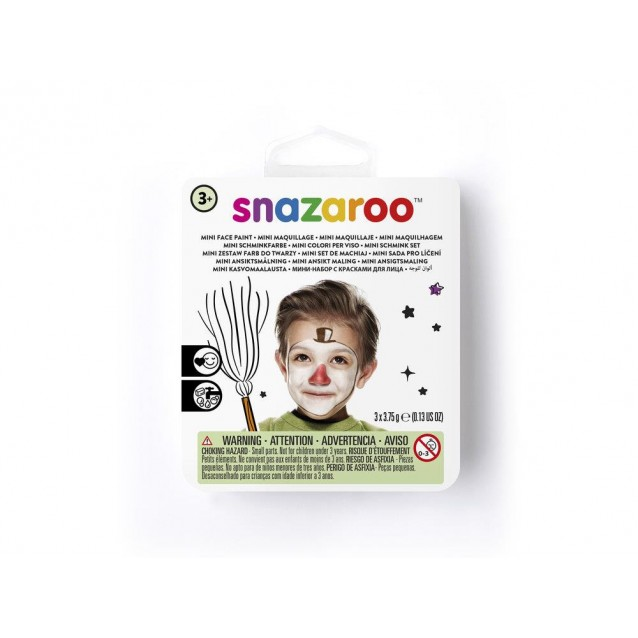 Snazaroo Mini Set Face Paint Χιονάνθρωπος