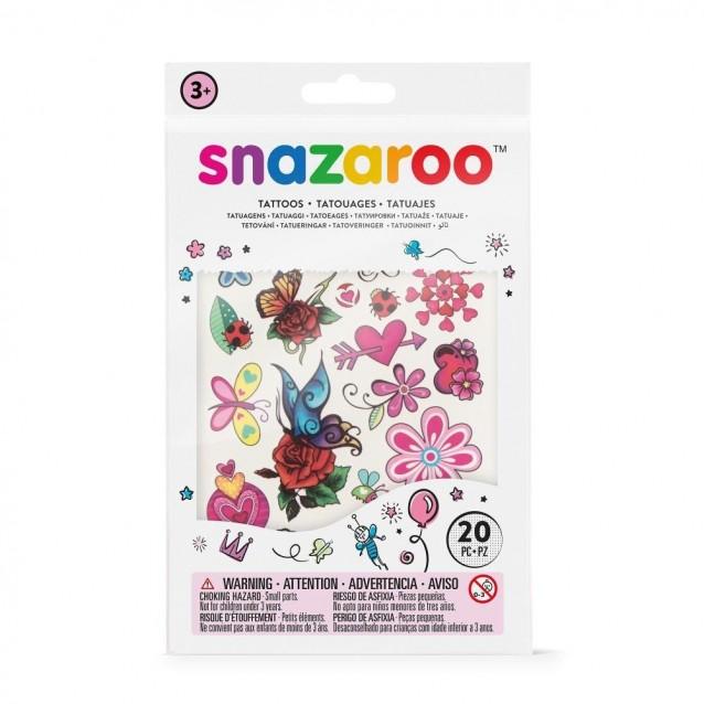 Snazaroo 20 Αυτοκόλλητα Tατουάζ Fantasy