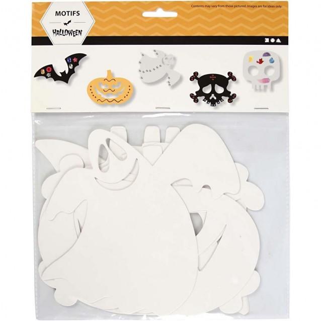 16 Χάρτινα Μοτίβα Halloween 25X17 cm