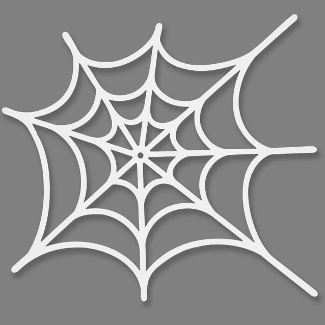 16 Χάρτινοι Ιστοί Αράχνης 19Χ21 cm