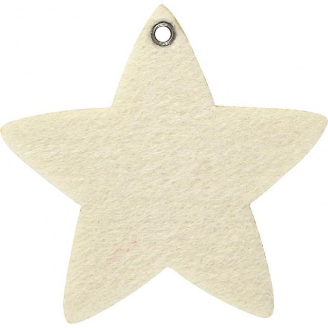 5 Τσόχινα Αστέρια 9Χ8,5cm
