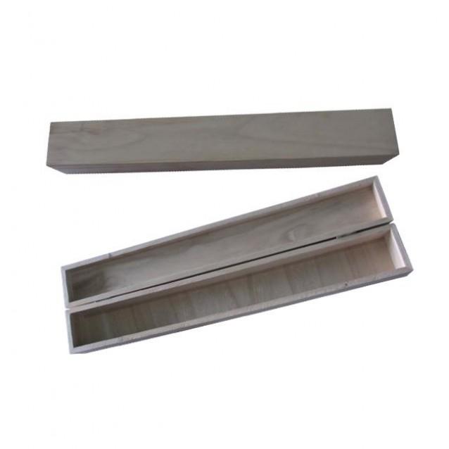 Λαμπαδόκουτο Ξύλινο 47x6x6,5cm (ΜxΠxΥ)