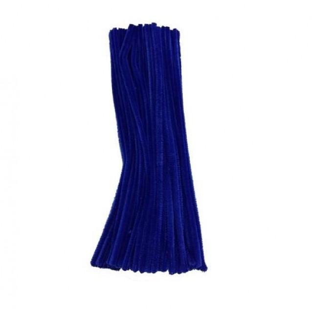10 Σύρματα Πίπας 50cm Μπλε