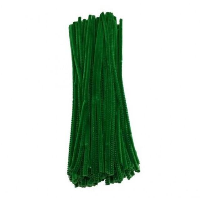 10 Σύρματα Πίπας 50cm Πράσινο