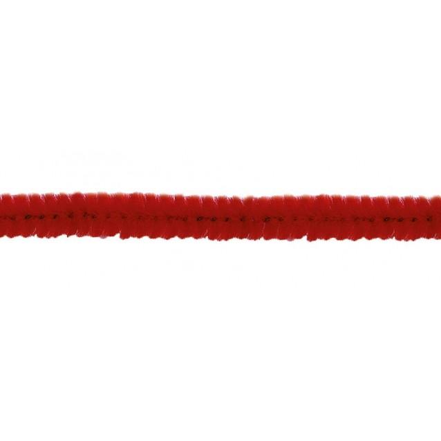 10 Σύρματα Πίπας 50cm Κόκκινο